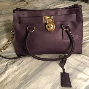 Michael Kors Purple Handbag/ Purse